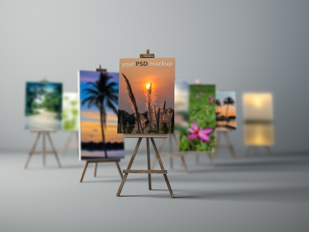 Canvas mockup collection