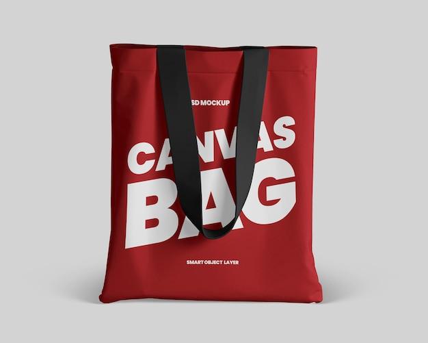 Canvas tote bag mockup Premium Psd