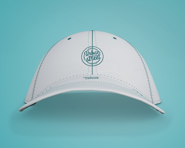 Cap mockup for merchandising