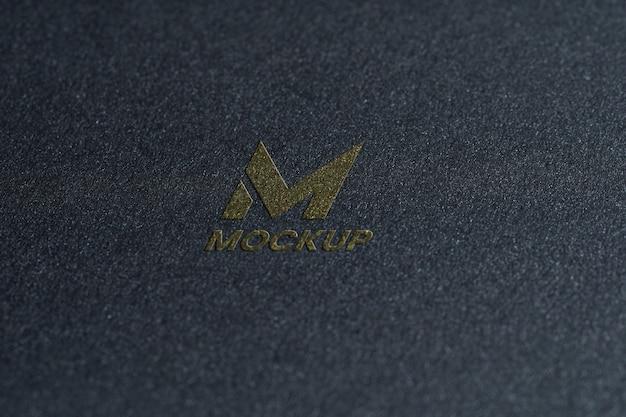 Дизайн логотипа макета заглавной буквы