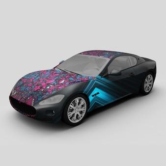 자동차 디자인 모의