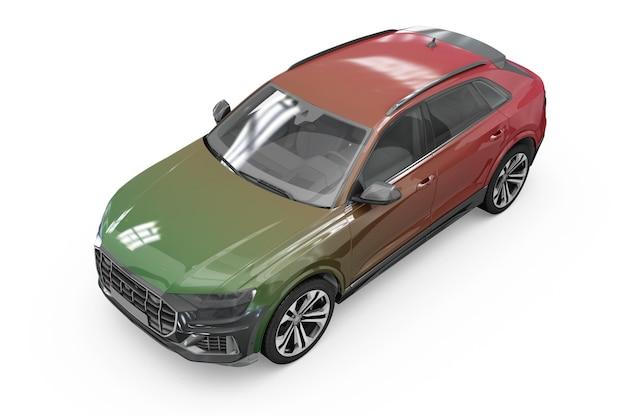 Progettazione isolata del modello dell'automobile