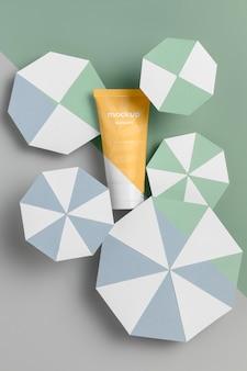 Картон и упаковка для ухода за кожей