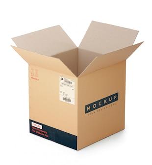 골판지 상자 모형