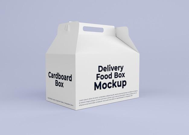 골판지 배달 상자 모형 디자인