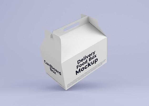 Картонная коробка для доставки макета