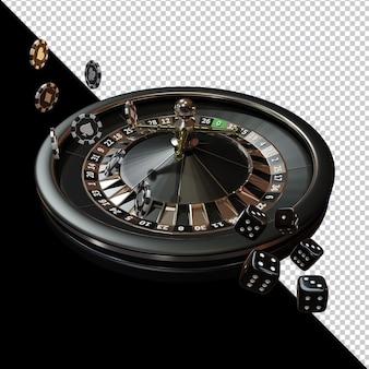 카지노 로얄 나이트 이벤트 3d 렌더링 구성