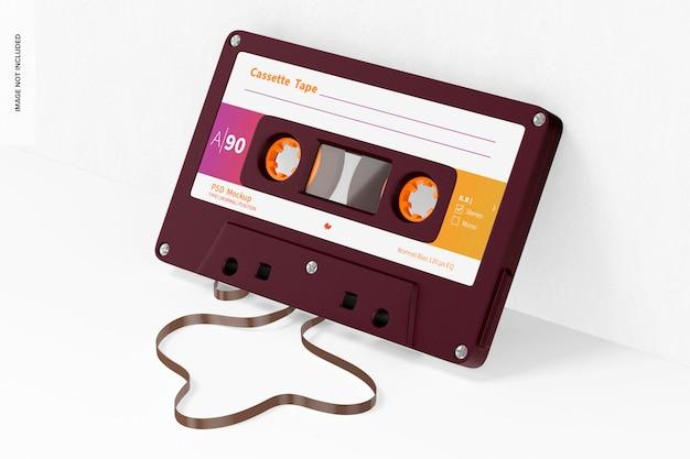 カセットテープのモックアップ