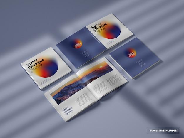 카탈로그 및 잡지 모형