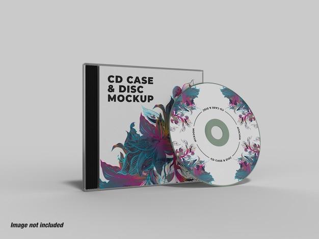 Cdケースとディスクモックアップ