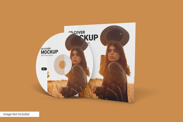Мокап обложки cd