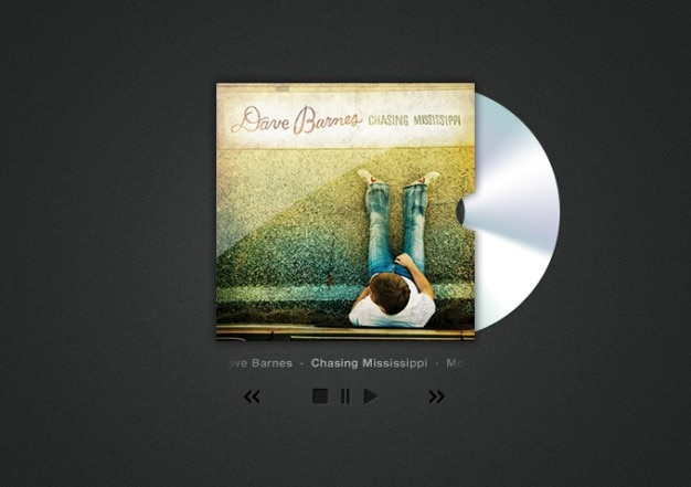 Обложка cd искусства и игрока