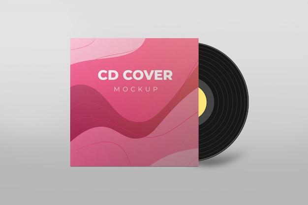 Макет обложки cd