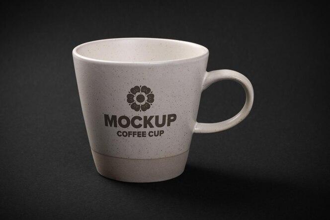 Ceramic cup mockup design