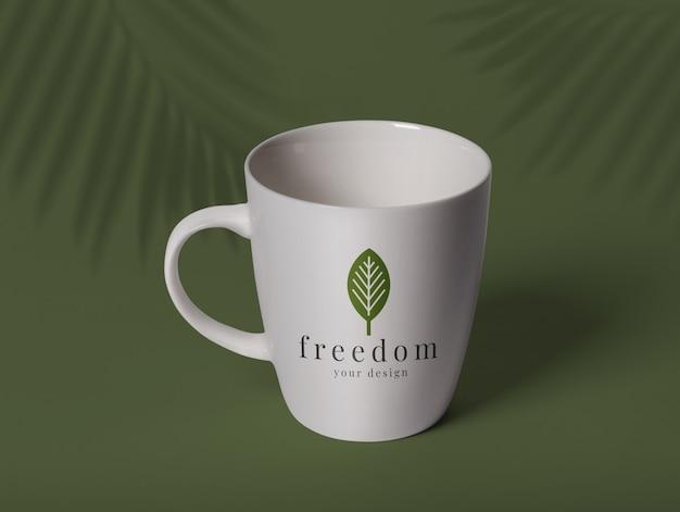 Ceramic cup mockup template