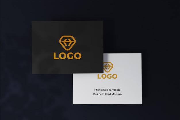 Сменный современный и чистый макет дизайна визитки