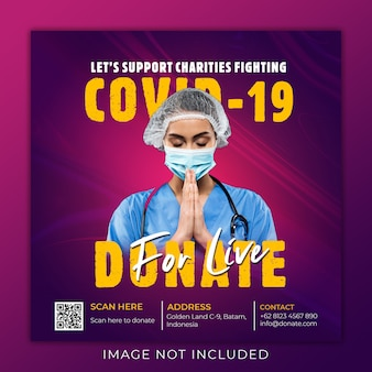 Charities fundraising fighting coronvirus