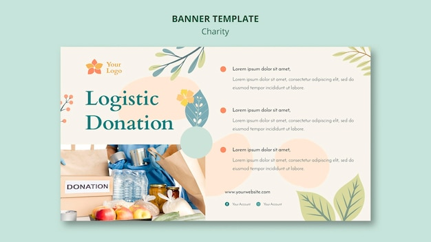 Charity banner design