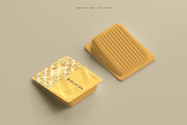 Мокап упаковки сыра