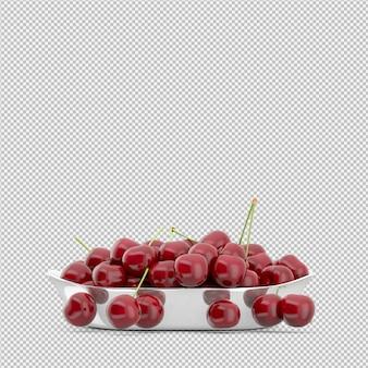 Cherries 3d render