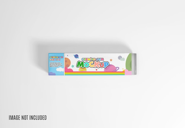 Chewing gum mockup