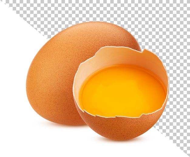 分離された鶏卵