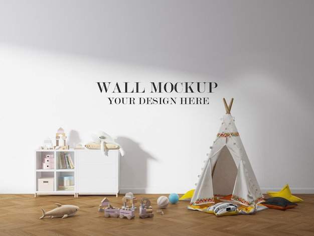 아이 방 벽 템플릿