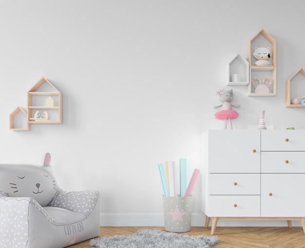 棚とおもちゃのある子供部屋
