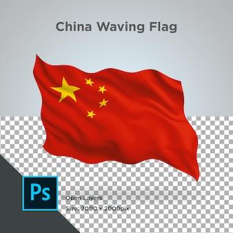 Китай флаг волна прозрачный psd