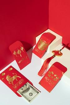 Assortimento di capodanno cinese