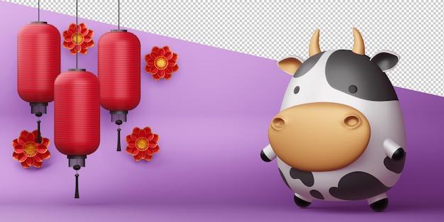 Китайский новый год, год быка.