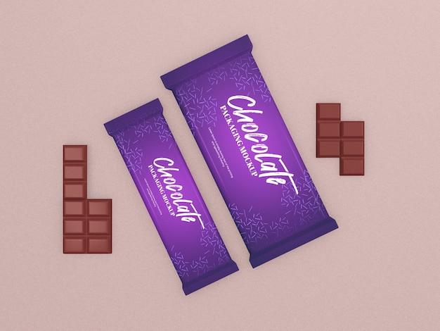초콜릿 바 포장 프로토 타입