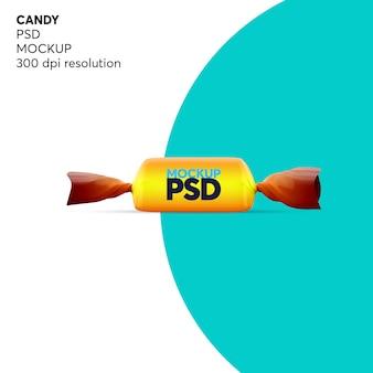 Макет шоколадных конфет