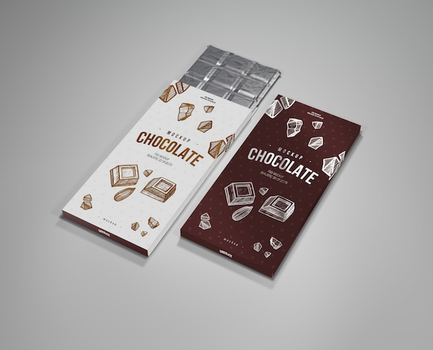 Chocolate mock up