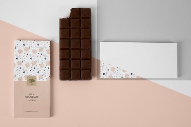 초콜릿 포장 모형