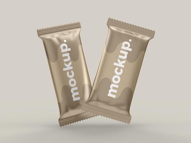 초콜릿 스낵 바 모형