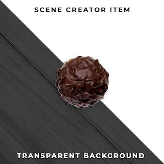 Шоколад прозрачный psd