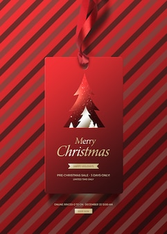 Christmas banner for sales