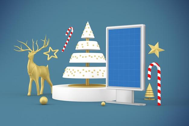 Christmas billboard