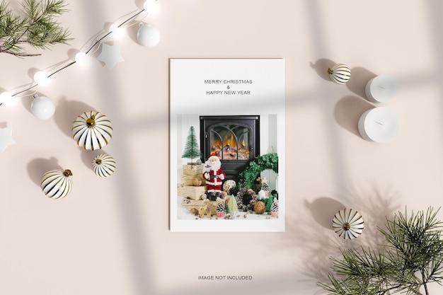 Рождество украшено дизайнерским пространством