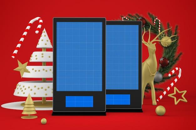 クリスマスデジタルサイネージ
