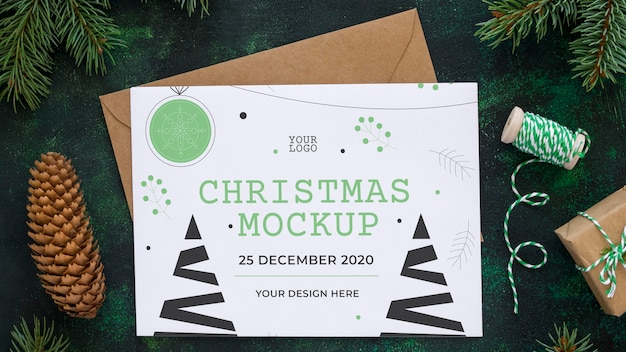 クリスマスイブの要素の配置