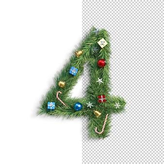 Рождественский купель, номер 4