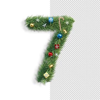 Рождественский купель, номер 7