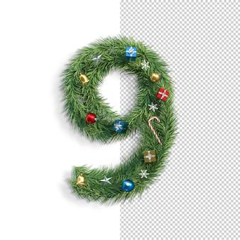 Рождественский купель, номер 9