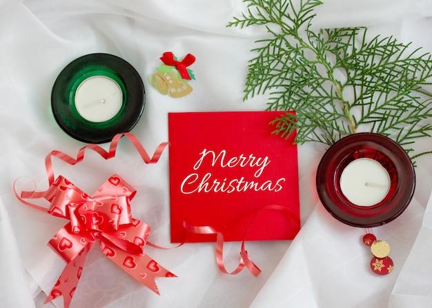 Рождественские поздравления макет