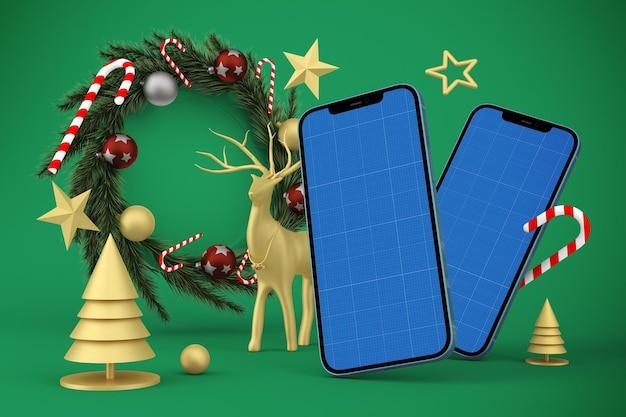 크리스마스 전화 프로토 타입