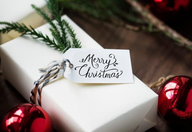 크리스마스 선물 상자