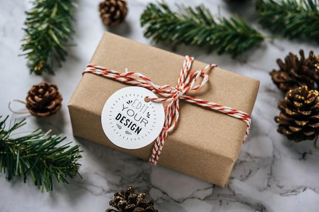 크리스마스 선물 태그