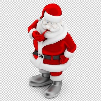 Christmas santa toy